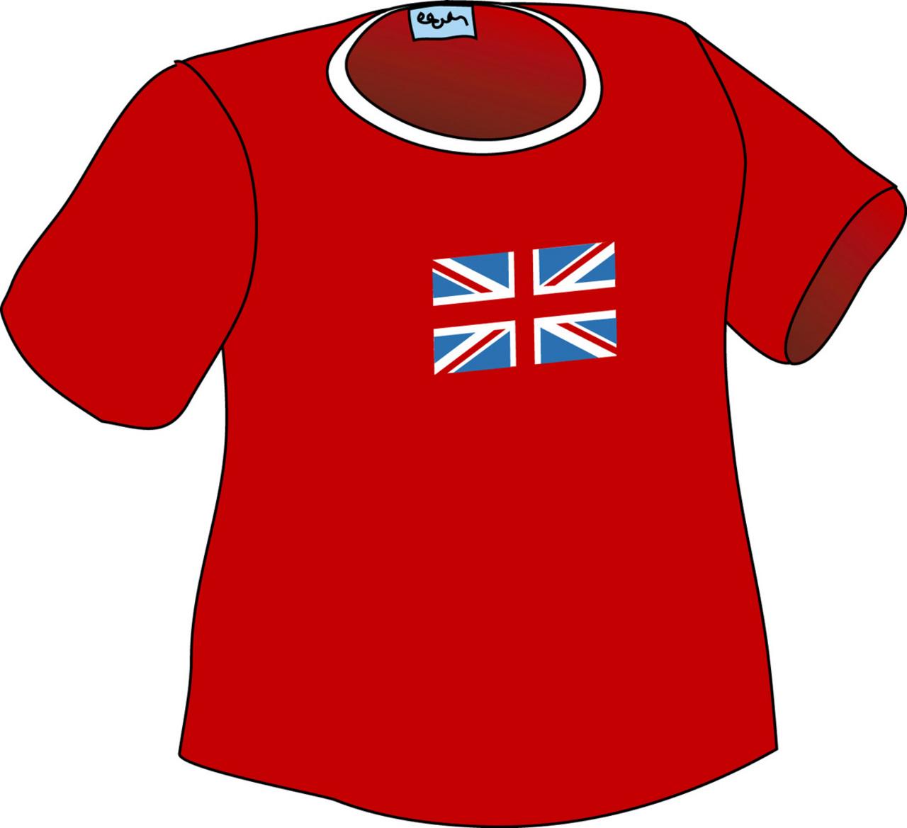rødt t skjorte nynorsk